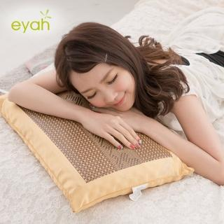 【eyah宜雅】雅藤清香茶葉枕-大型(1入)