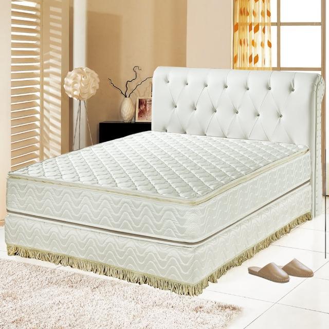 【睡芝寶】正四線矽膠-3M防潑水蜂巢式獨立筒床墊(雙人加大6尺)