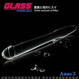 【香港VenusGLASS】冰清玉柱-玻璃水晶後庭冰火棒Anus 2