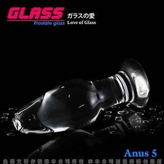 【香港VenusGLASS】玻璃之戀-玻璃水晶後庭冰火棒Anus 5-12hr