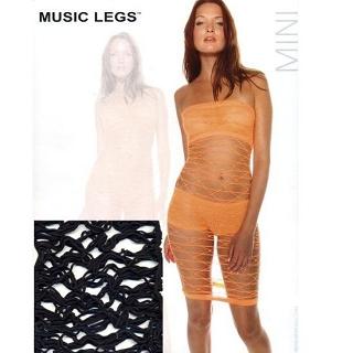 【MUSIC LEGS】性感貓裝(頂級 6995 黑 F)