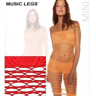 【MUSIC LEGS】性感貓裝(頂級 6995 紅 F)
