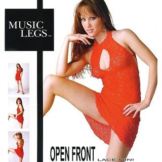 【MUSIC LEGS】性感貓裝(頂級 6343 紅 F)