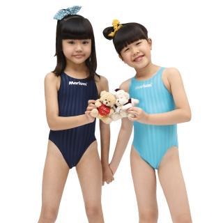 【≡MARIUM≡】小女競賽型泳裝─湖藍(MAR-800333WJ)