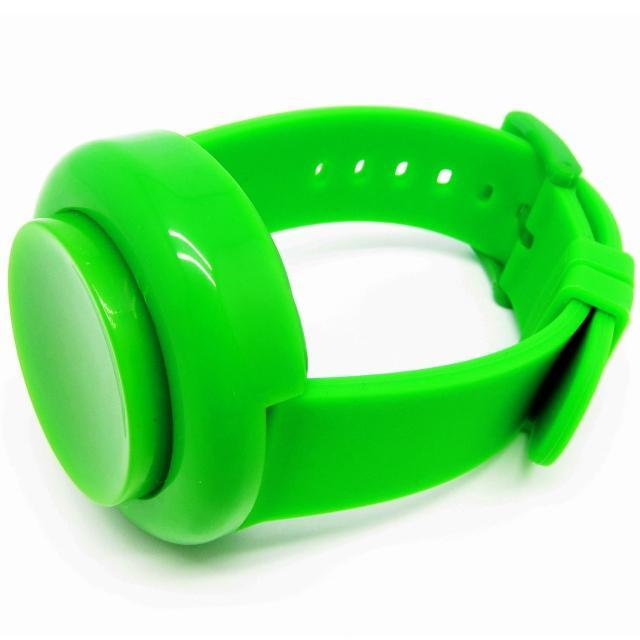 【CLICK】復古大圓鍵快打電子腕錶-綠(CL-BT-GN)