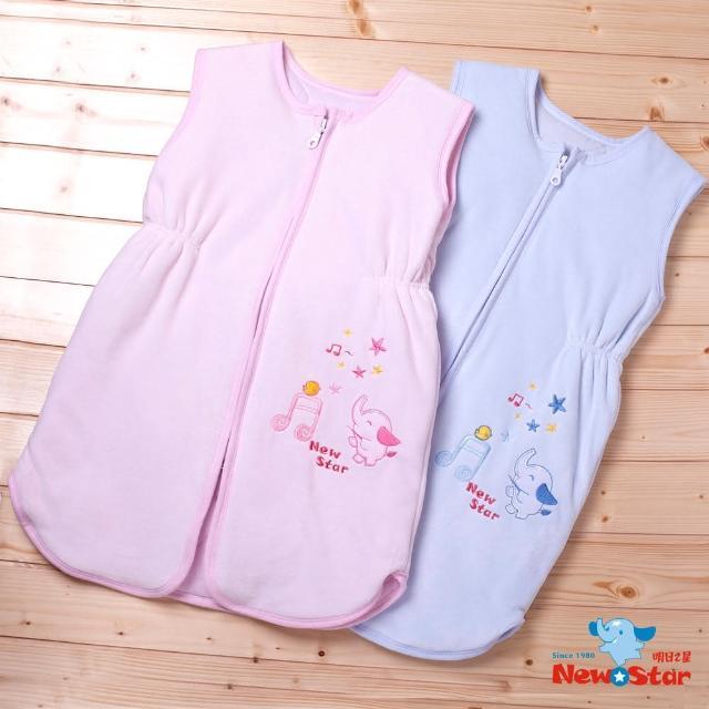 【聖哥-NewStar】保暖防踢睡袍(棉絨+鋪棉、背心式)