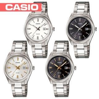 【CASIO 卡西歐】簡潔俐落時尚氣質女錶(LTP-1302D)