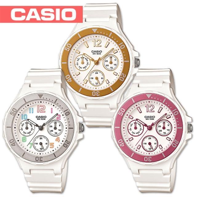 【CASIO 卡西歐】潛水風格-繽紛糖果色系甜心女錶(LRW-250H)評比