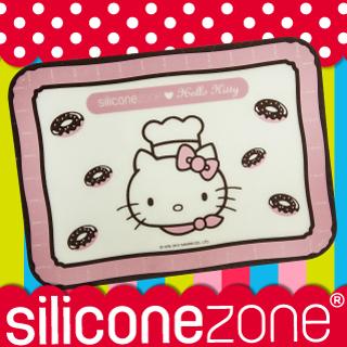 【Siliconezone】施理康Hello Kitty矽膠餅乾小烤箱墊(SZ12-BM-11707)