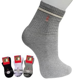 【Roberta di Camerino 諾貝達】氣墊式運動毛巾運動襪-12雙(義大利名設計師品牌)