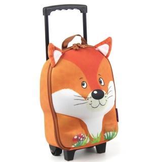 【德國okiedog】兒童3D動物造型拉桿式行李箱(狐狸)