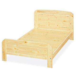 【顛覆設計】松木實木3.5尺單人床架(實木床板)