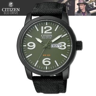 【CITIZEN 星辰】光動能專業軍用錶 / 精品腕錶(BM8475-00X)