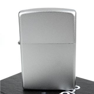 【ZIPPO】美系-Satin Chrome緞面鍍鉻-銀色霧面打火機