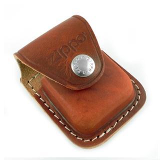 【ZIPPO】背夾式-打火機皮套(棕色款)
