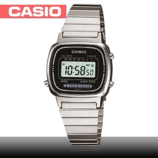 【CASIO 卡西歐】日系-超人氣復古型電子女錶(LA670WD)