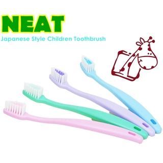 【台灣家樂潔】日式兒童健康牙刷x24入(四色隨機出貨)