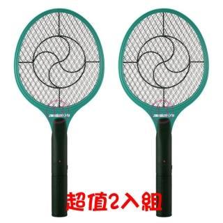 【日象】大力式電池式捕蚊拍 2入組(ZOM-2100)