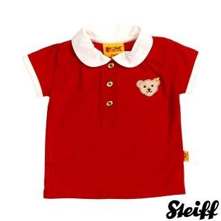 【STEIFF】短袖 圓領 上衣 紅(短袖上衣)