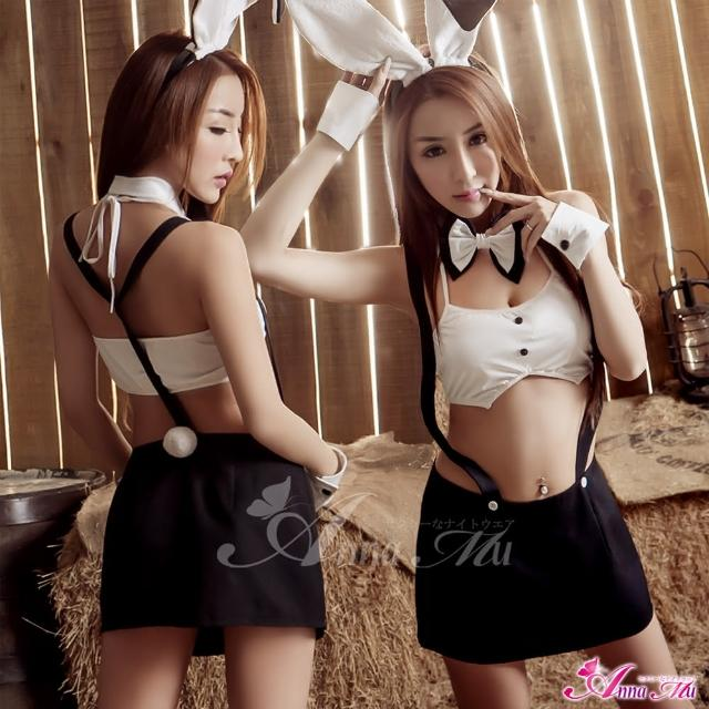 【Anna Mu】超Q衝擊!六件式兔女郎角色扮演服