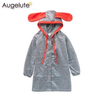 【baby童衣】兒童雨衣 女童洋裝式防水雨具 41042(共二色)