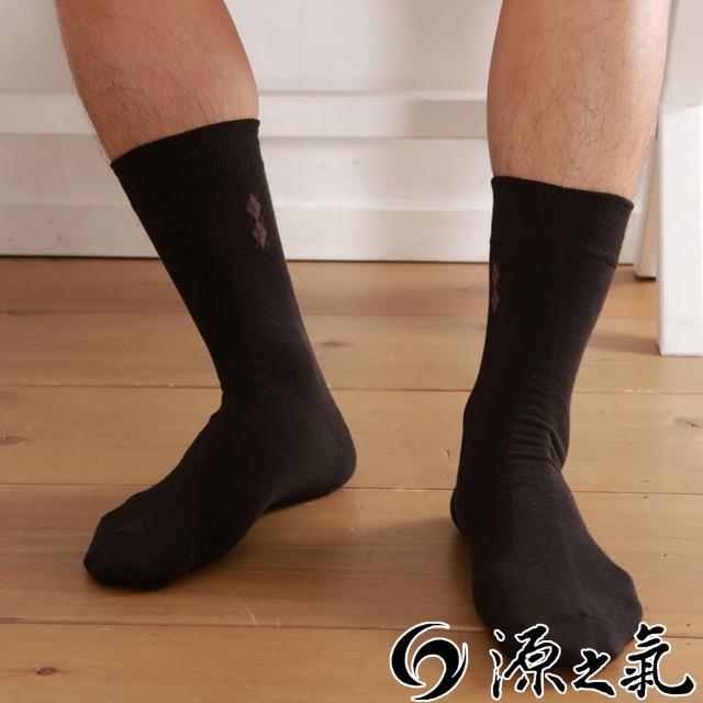 【源之氣】竹炭紳士棉襪/黑緹花 六雙組 RM-10026評鑑