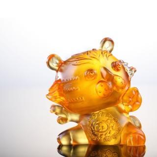 【琉璃工房LIULI】12生肖花燦燦系列-阿猛(虎)