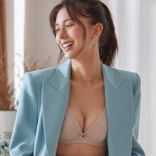 【蕾黛絲】挺素面V版型B-C罩杯內衣(裸膚)