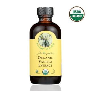 【Flavor Organic】美國原裝進口 有機香草精華(118mL)
