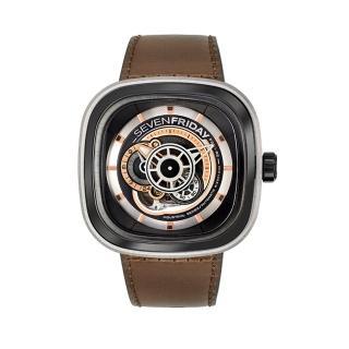 【SEVENFRIDAY】瑞士品牌自動上鍊機械腕錶(P2B)