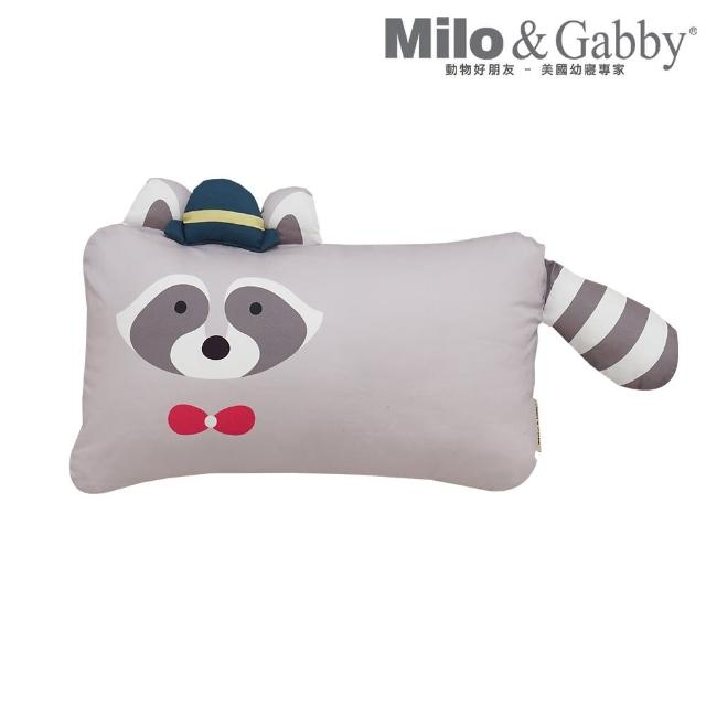 【Milo&Gabby】動物好朋友-超細纖維防蹣抗菌mini枕心+枕套組(多款花色任選)