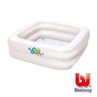 【酷博士】Bestway。寶寶方型充氣浴盆(51116)