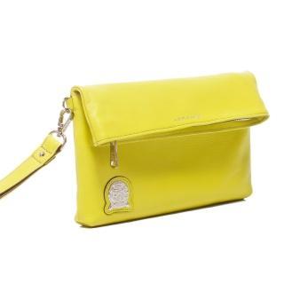 【A.D.M.J.】柔軟小牛革CLUTCH BAG手拿包(LIME)