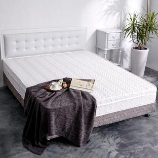 【亞珈珞】透氣升級款-3D緹花三線獨立筒床墊(雙人加大6尺)