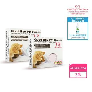 【好寶貝-2017新一代】《頂級年拋版》寵物除臭尿布粉藍S:40*60cm(衝環保、愛地球、重覆清洗使用)