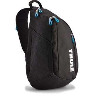 【Thule 都樂】多功能13吋MacBook筆電單肩斜背包(TCSP-313黑色)
