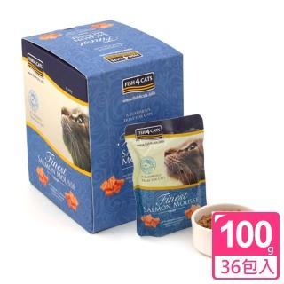 【FISH4CATS海洋之星】海藻精華鮭魚慕斯(貓用-六盒裝)