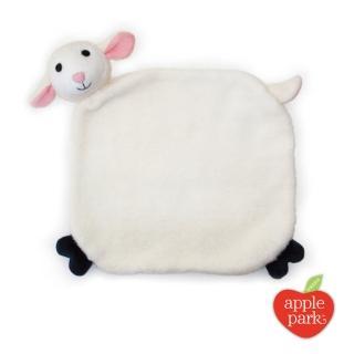 【美國 Apple Park】有機棉安撫巾彌月禮盒 - 小羊