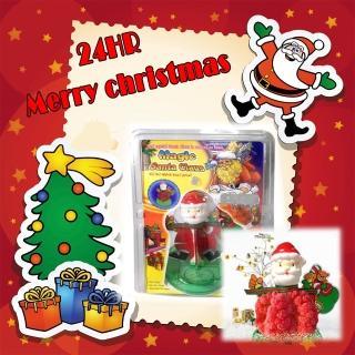 【金德恩】DIY 神奇魔幻成長聖誕老公公-豪華版(耶誕節/交換禮物/玩具)