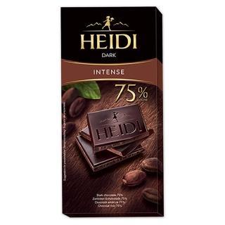 【即期品】瑞士赫蒂 75%黑巧克力80g