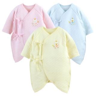 【JoyNa】日本熱銷保暖連身長袖空氣棉蝴蝶衣(2件入)