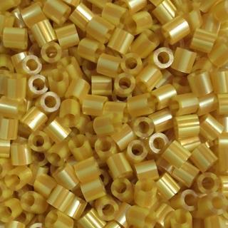 【Perler 拼拼豆豆】1000顆單色補充包-147黃金條紋(特殊色)