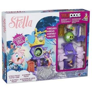 【孩之寶流行玩具】怒鳥 - 粉紅史黛拉城堡公主遊戲組(A8884)