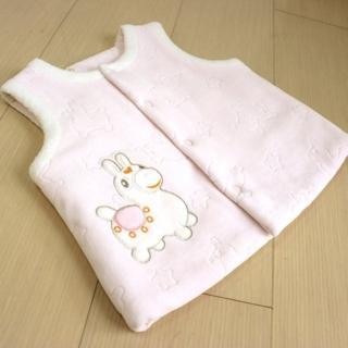 【RODY】寶貝保暖刷毛絨背心1件(粉)