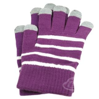 【Lus.G】3C觸控螢幕專用手套II代(葡萄紫)