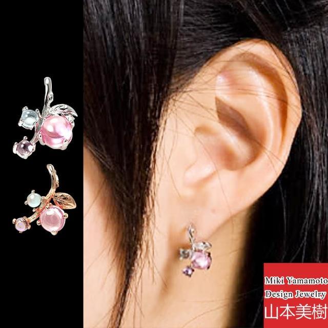 【山本美樹】果實 水晶針式耳環(兩色)