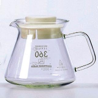 【SYG】精緻耐熱花茶咖啡壺-白蓋(BHG360S)