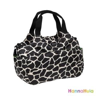 【日本Hanna Hula】棉花糖二用媽媽包/空氣包(長頸鹿黑)