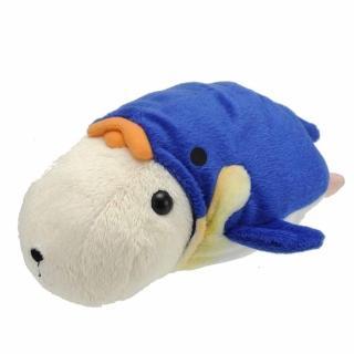 【kapibarasa】水豚君海洋便裝系列毛絨公仔(懷特小姐)
