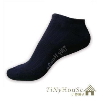 【TiNyHouSe】舒適襪 厚底船襪 超值2雙入組(黑色F號 T-01)